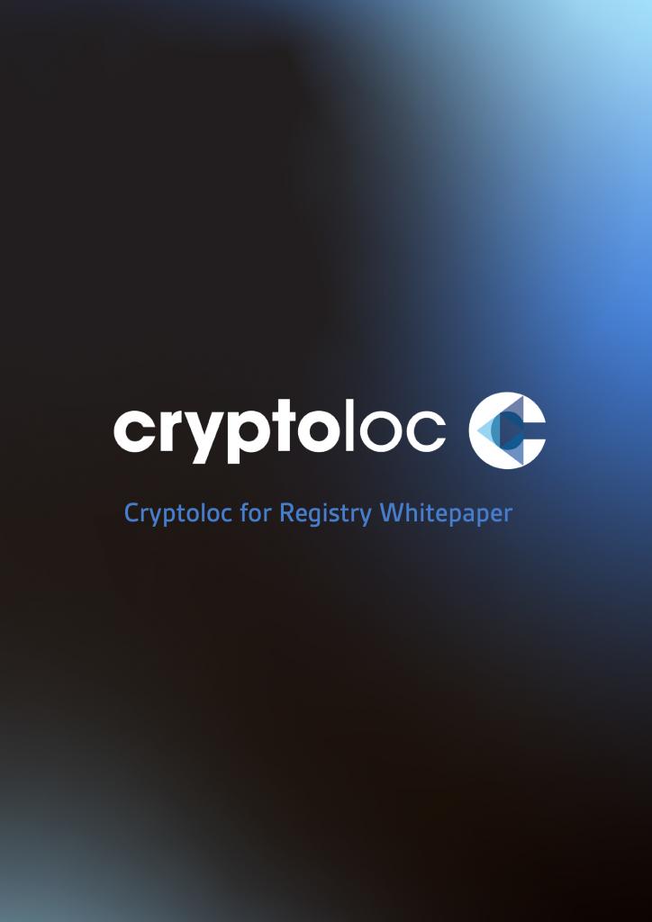 Cryptoloc for Registry Whitepaper